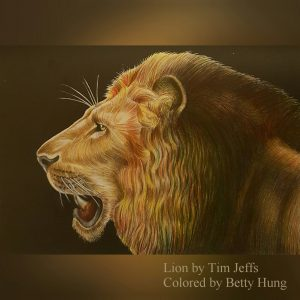 Lion by Tim Jeffs Colored by Betty Hung