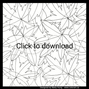 Autumn leaves illustration - click to download