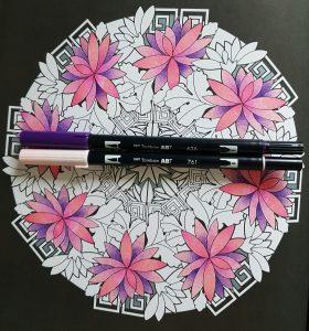 Petal Coloring Step 3