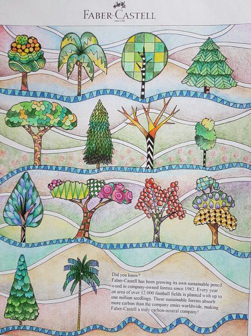 Tree embellishments demo - colored