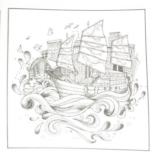 Original illustration of the Dukling by Lau Tsz Ying