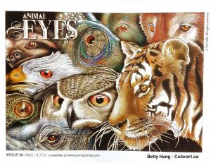 Animal Eyes by Tim Jeffs colored by Betty Hung