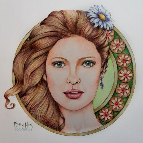 Daisy by Laura Rafferty, colored by Betty Hung - colorart.ca
