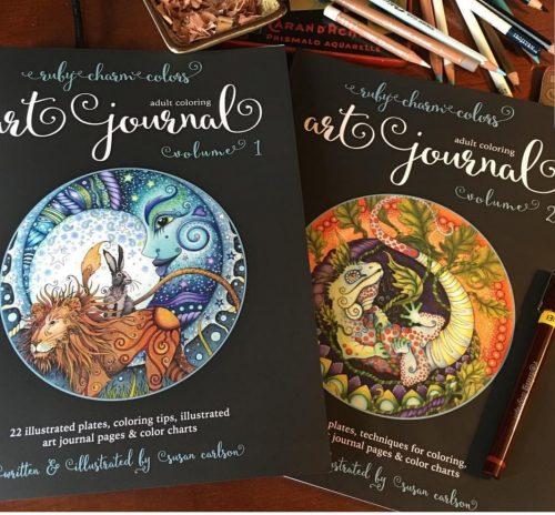Ruby Charm Art Journal vol 1 & 2