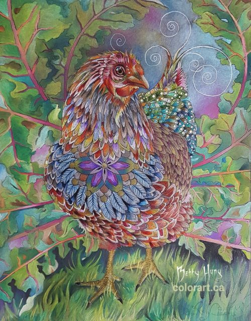 Chiquita by Susan Carlson Rubycharmcolors, colored by Betty Hung - colorart.c